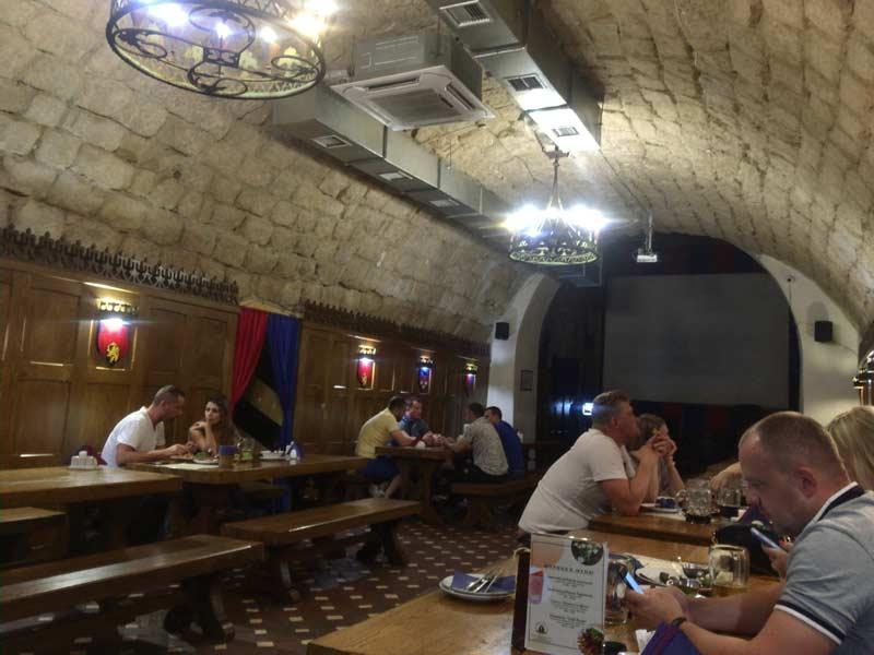 ウクライナの地ビール