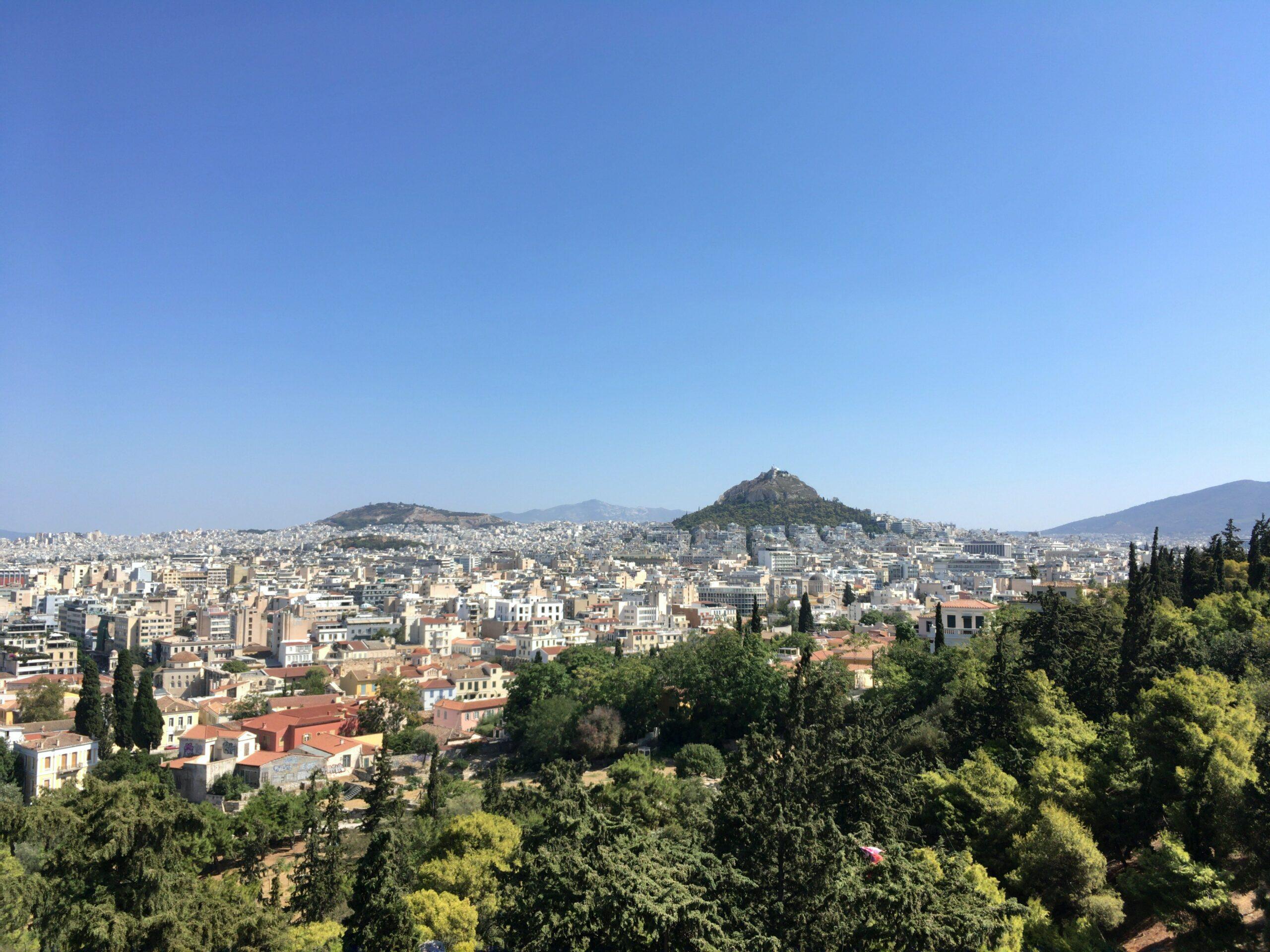 アテネ郊外の手羽先